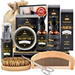 Beard Kit for Men Grooming & Care W/Beard Wash/Shampoo,2 Packs Beard