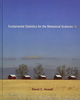 Amazon fundamental statistics for the behavioral sciences fundamental statistics for the behavioral sciences 7th edition fandeluxe Image collections
