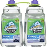 """Scrubbing Bubbles Automatic Shower Cleaner Refill (""""Refreshing Spa"""" 34oz - 2 Count)"""