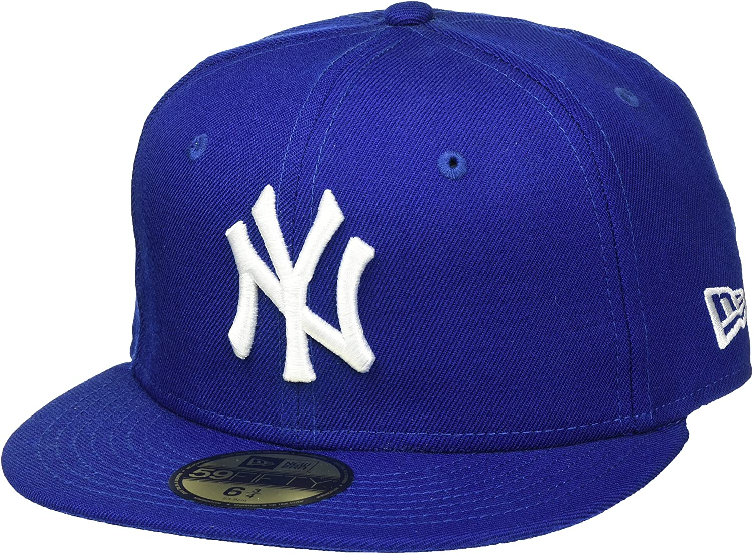 New Era Mlb Basic New York Yankees, Gorro para Hombre, Azul (roy/whi), 8 0/0 inch
