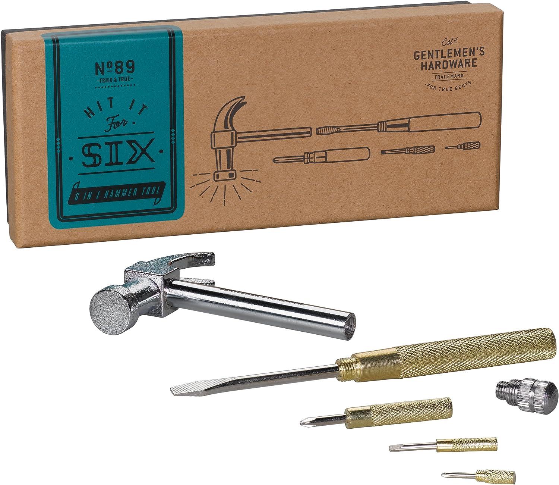 Gentleman/'s Hardware 6 in 1 Hammer Tool # 89
