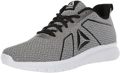 5d0b1588b58 Reebok Women s Instalite PRO Sneaker HTHR - Black White ash Grey 5.5 ...
