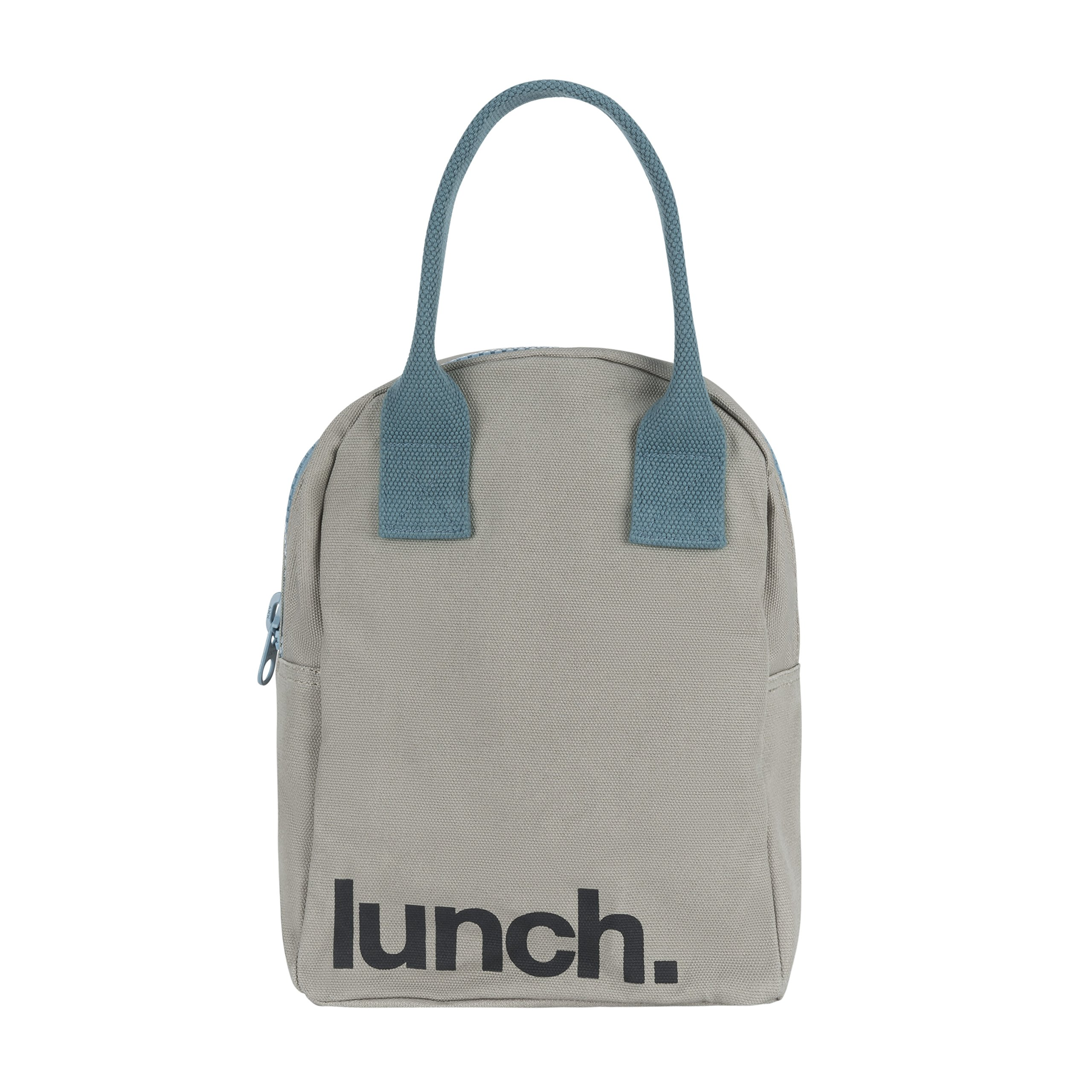 Amazon Com Fluf Zipper Lunch Bag Organic Cotton Medic