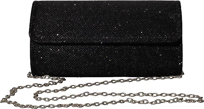 glittering clutch purse