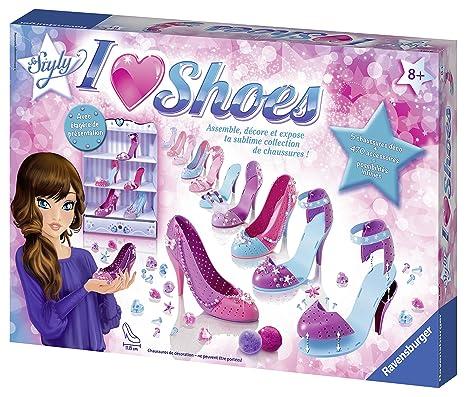 finest selection dc91d cae07 Ravensburger - 18589, I Love Shoes Kit con Accessori per Realizzare Una  Collezione di Scarpe