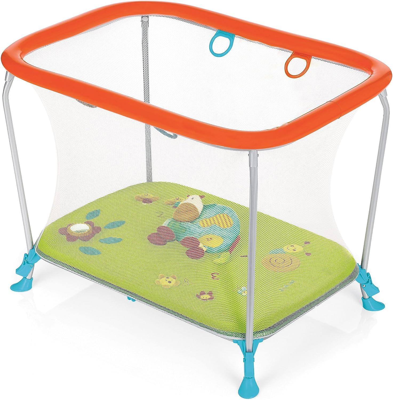Brevi Soft & Play Activity Center Green Farm, Azul/Verde/Naranja, 105.9 x 75.9 x 27.9