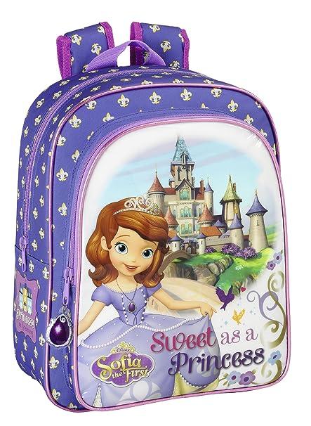 safta Princesa Sofía Mochila Escolar, 34 cm: Amazon.es: Ropa y accesorios