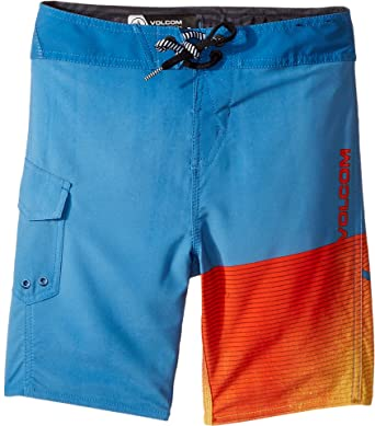 25fd82d777 Image Unavailable. Image not available for. Color: Volcom Kids Baby Boy's  Costa Logo Mod Boardshorts ...