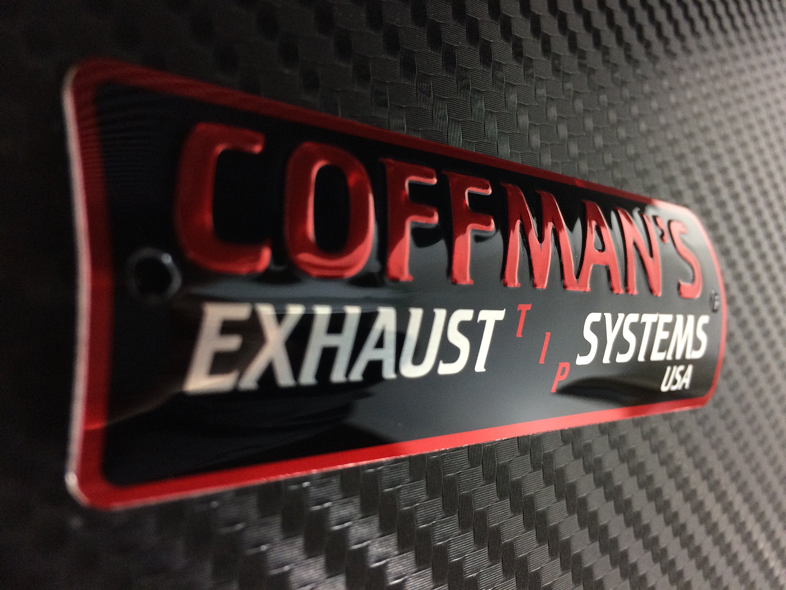 Coffman's Shorty Exhaust for Honda CBR500R (2013-16) Sportbike with Blue Tip by Coffman's (Image #3)