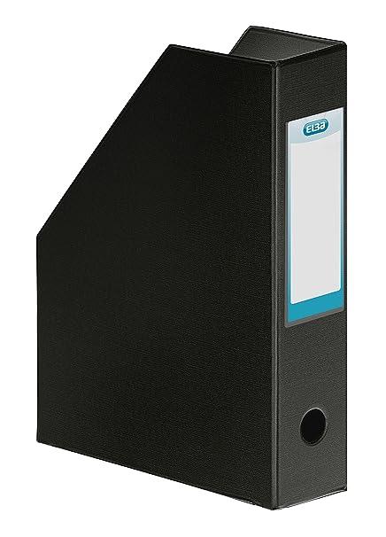 Elba 400081699 - Revistero de cartón forrado en PVC