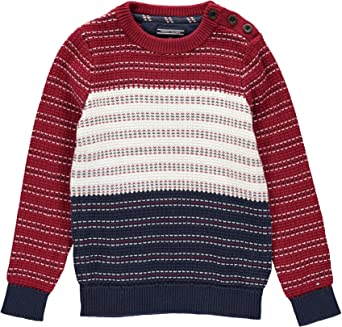 NWT Tommy Hilfiger Baby Boys Cotton Sweater Full Zip