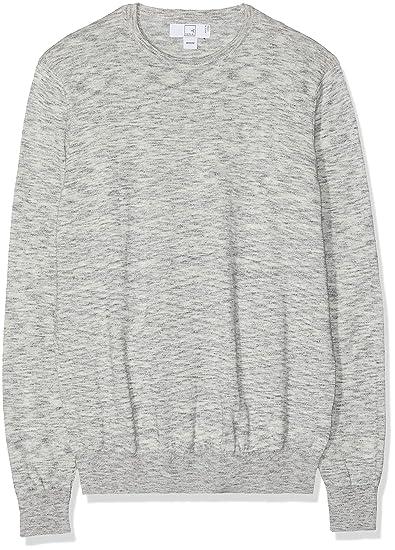 Amazon Marke: MERAKI Herren Pullover mit 'Space Dye' Farbverlauf aus Baumwolle