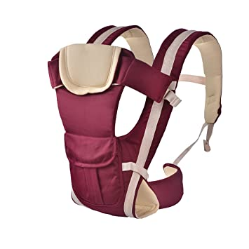 Amazon Com Ancitac Baby Carrier Backpack Ergonomic 4 Carrying