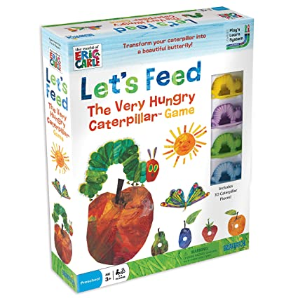 0c853794eacd6 Amazon.com  The World of Eric Carle Let s Feed The Very Hungry Caterpillar  Game  Game  Toys   Games
