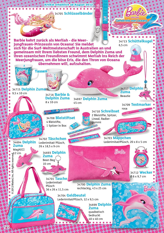 NICI 34694 Barbie Oceana - Delfín Zuma (12 cm): Amazon.es: Juguetes y juegos