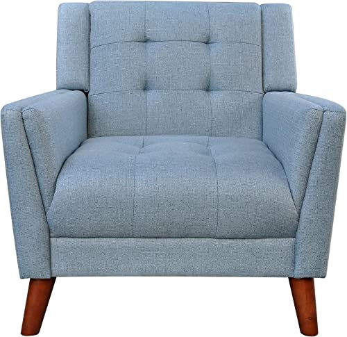 Christopher Knight Home Alisa Mid Century Modern Fabric Arm Chair