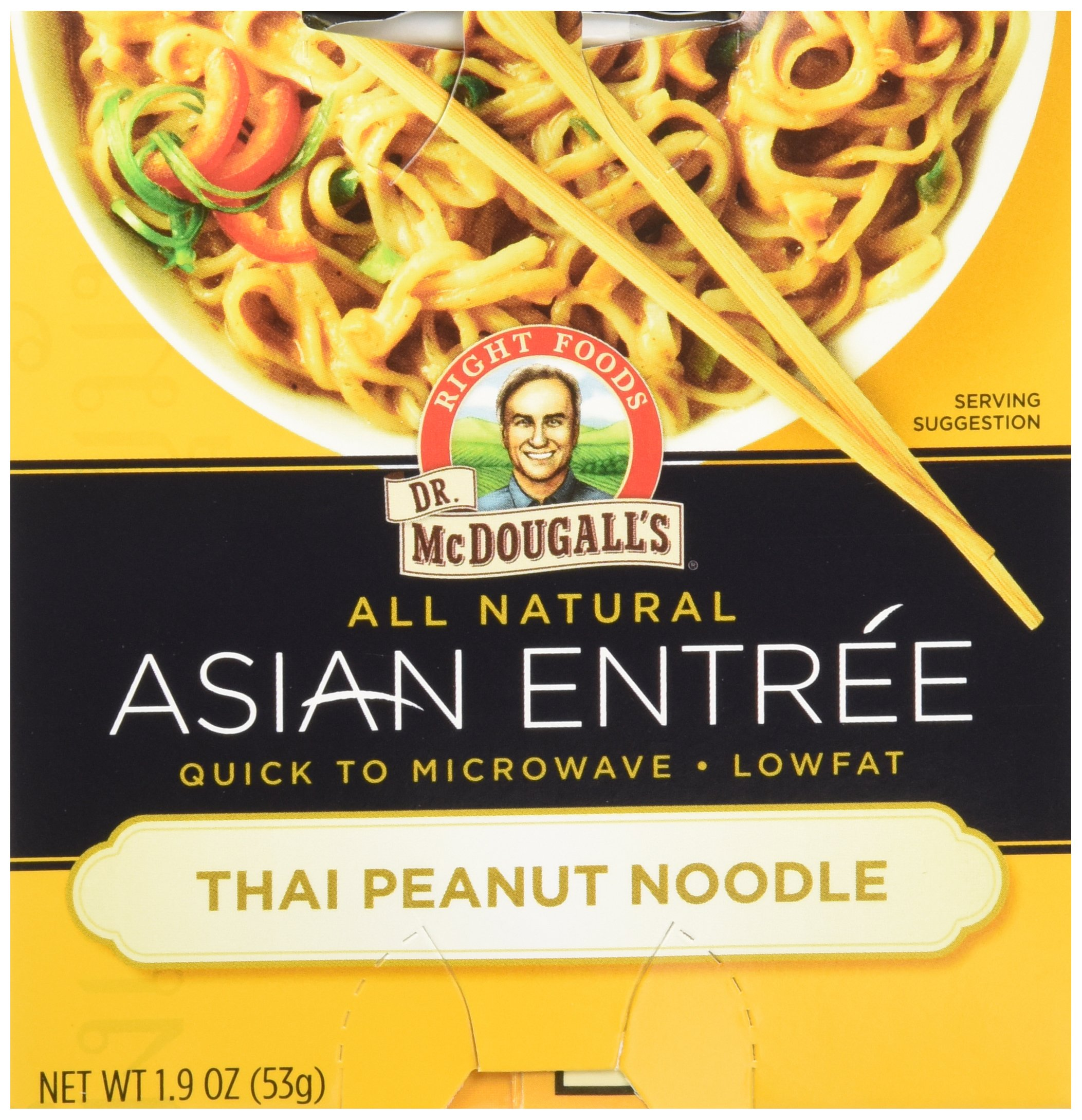 Dr. McDougall's Thai Peanut Asian Noodles, 1.9 oz