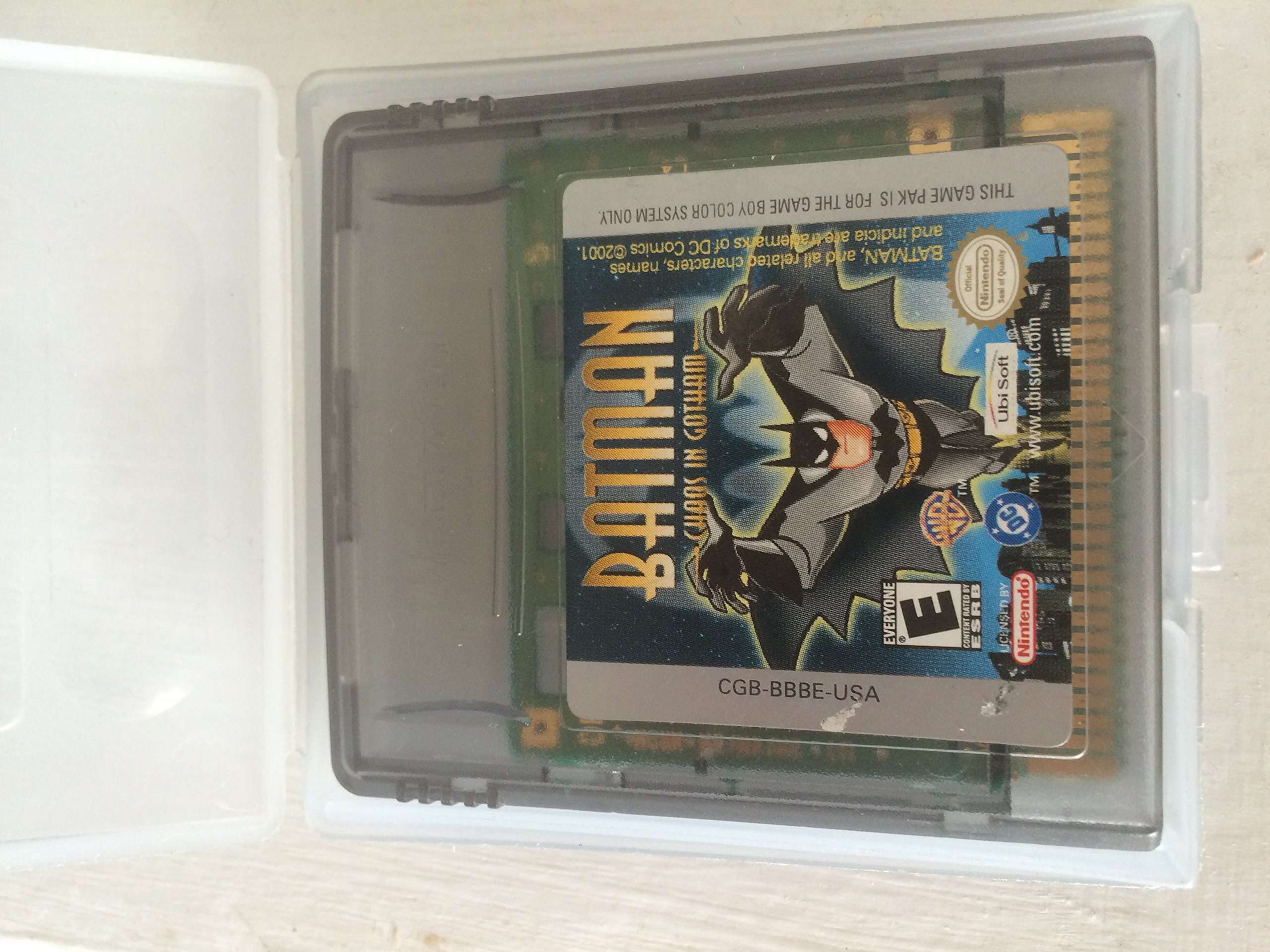 Amazoncom Batman Chaos In Gotham Nintendo Game Boy Color Video