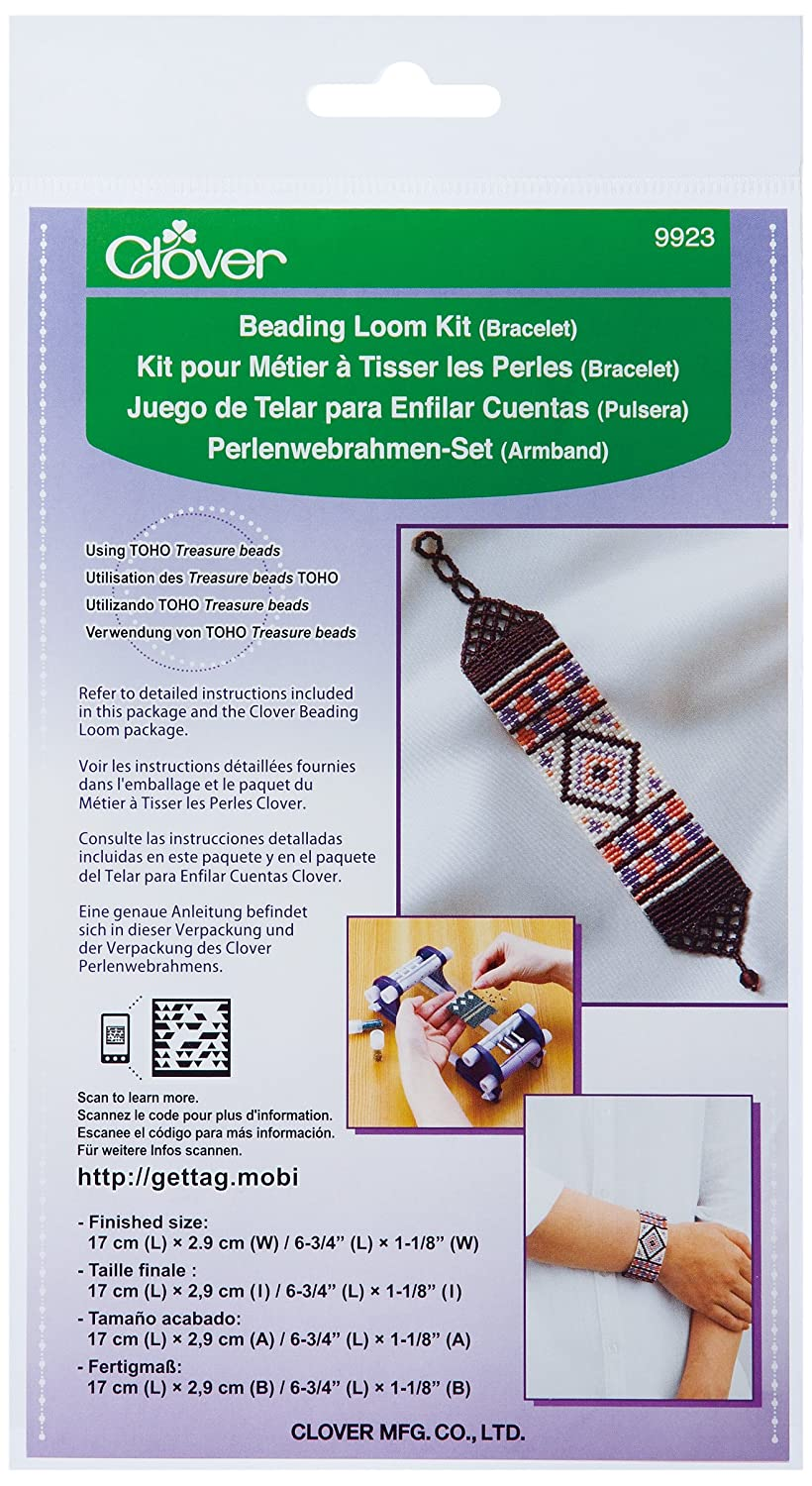 Clover 9923 Beading Loom Kit/Bracelet CLOVER MFG. CO. LTD.