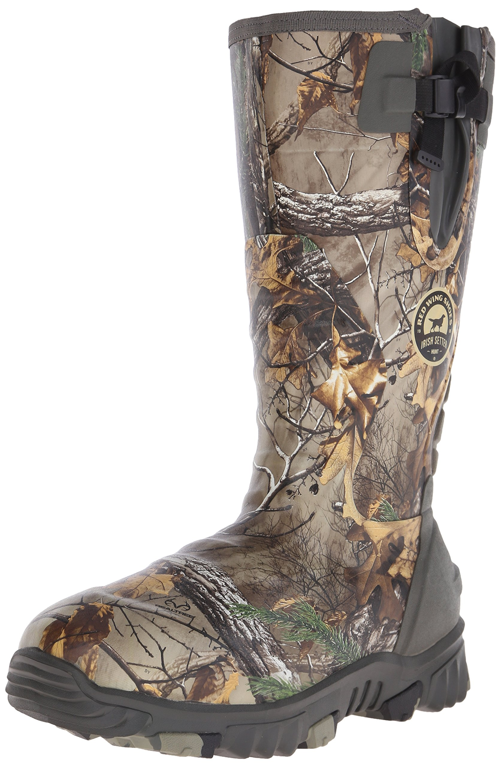 Irish Setter Men's 4881 Rutmaster 2.0 17'' 800-Gram Rubber Boot, Camo, 11 E US