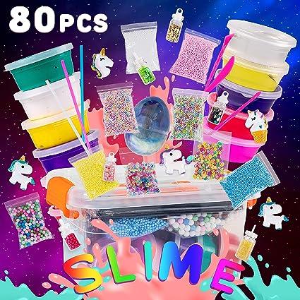 Amazon.com: Kit de limo para niñas y niños – 80 piezas ...
