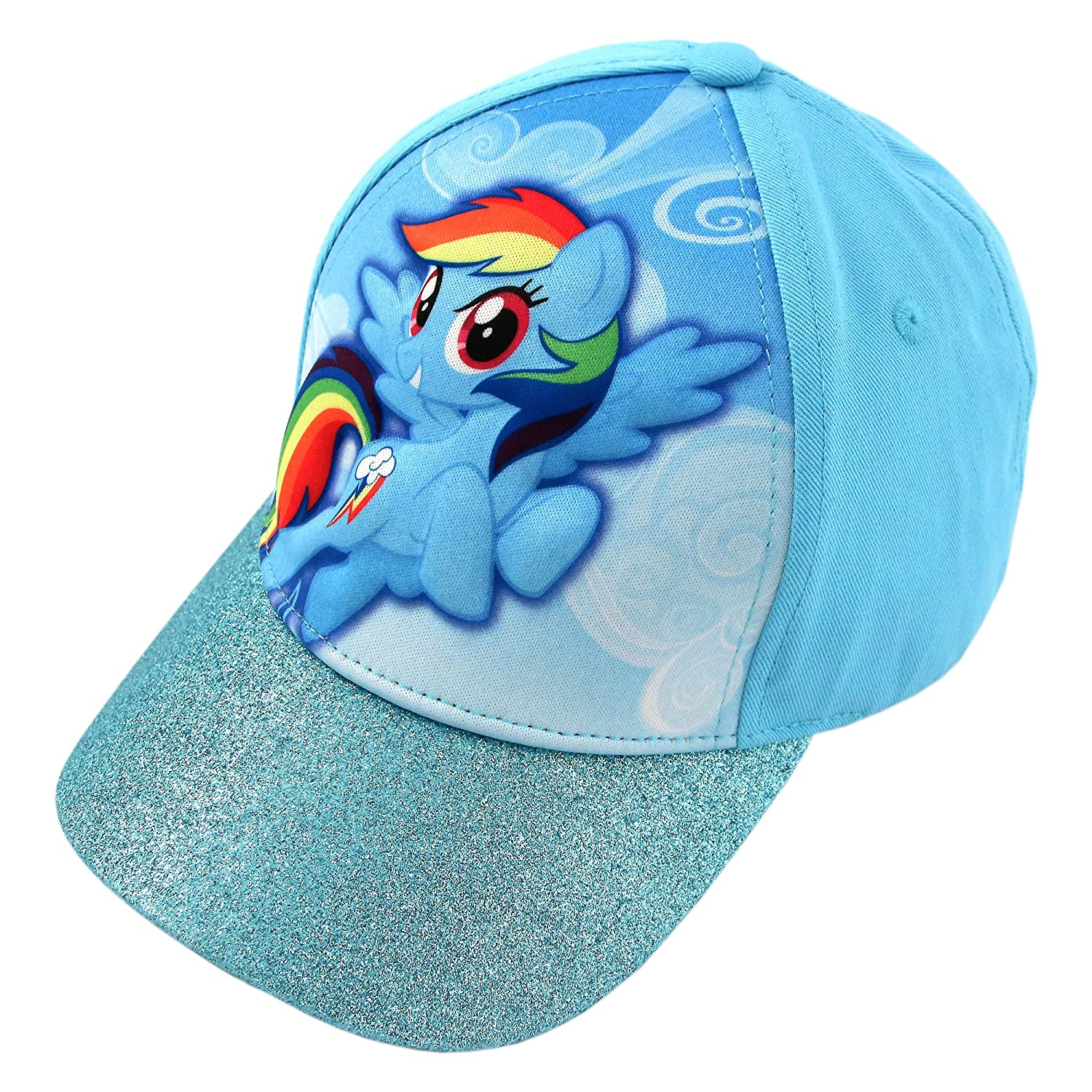 My Little Pony Girls' Baseball Cap Blue Age 4-7 Hasbro LPS70719ST