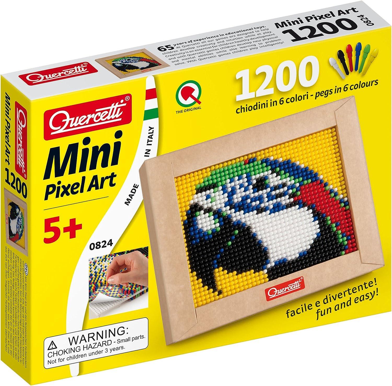Quercetti Mini Macaw Pixel Art Set