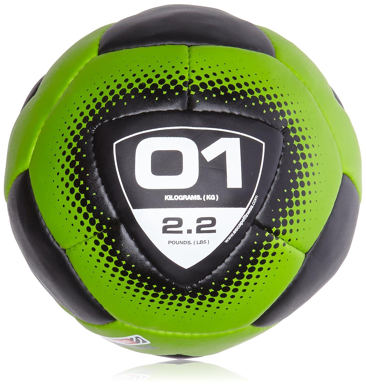 Escape Vertmini-Mini - Balón Medicinal (1 kg), Color Negro y Verde ...
