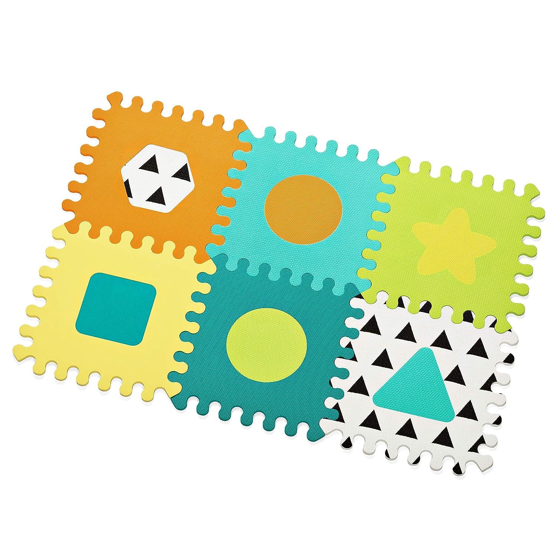Infantino Topsy Turvy weicher Schaumstoff Puzzle Matte