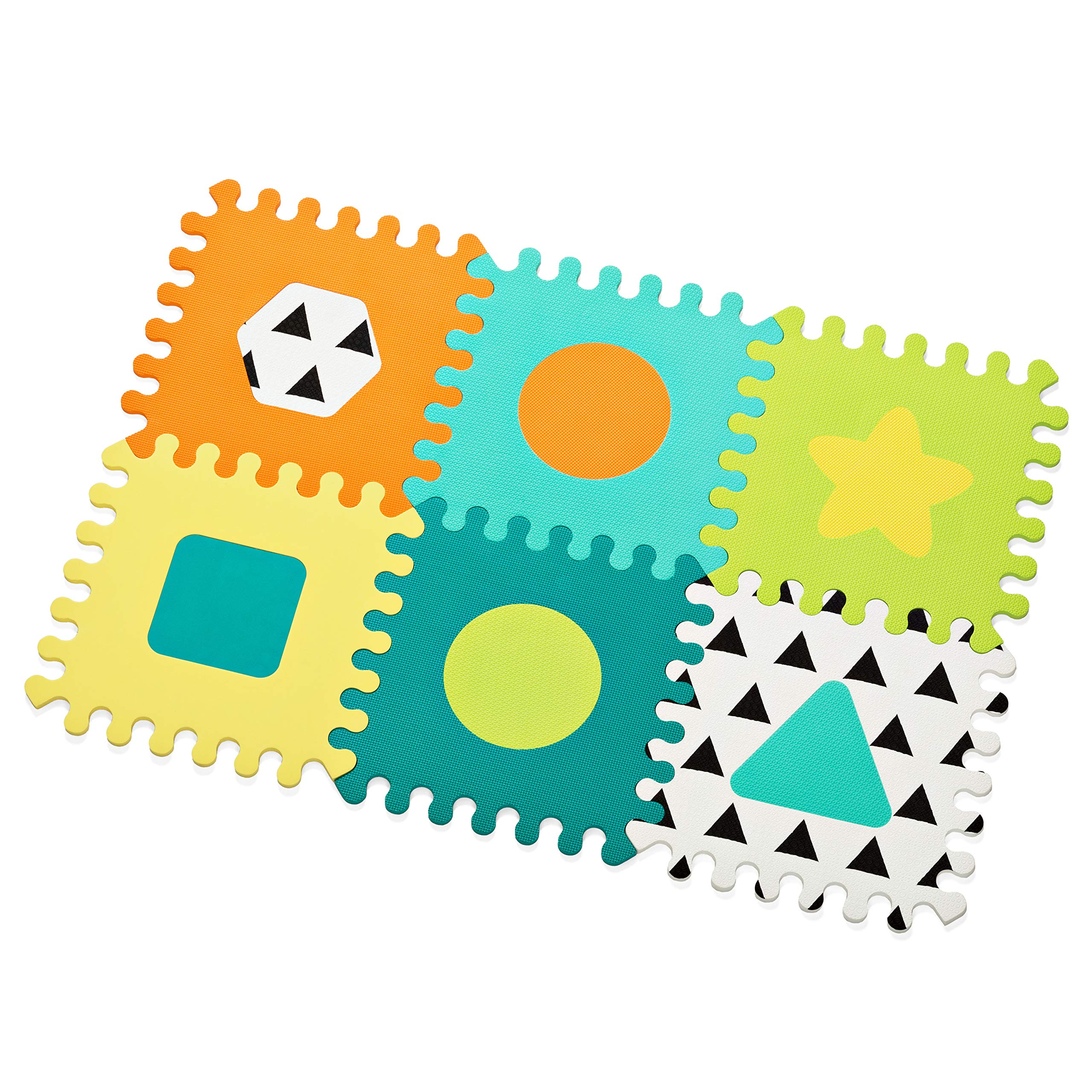 Infantino Topsy Turvy Soft Foam Puzzle Mat by Infantino