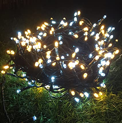 sale retailer 89596 52bee 1000 Super Bright White And Warm White LED Christmas Lights ...
