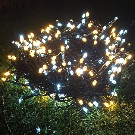 1000 Super Bright White And Warm White LED Christmas Lights.: Amazon.co.uk:  Kitchen & Home - 1000 Super Bright White And Warm White LED Christmas Lights.: Amazon