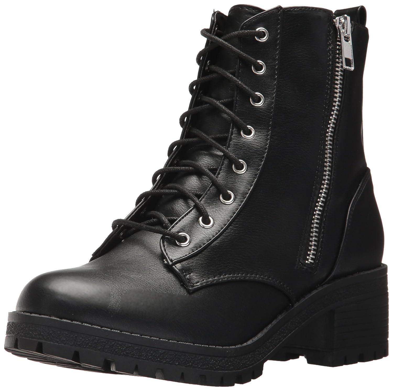Black Fergalicious Womens Rocker Combat Boot