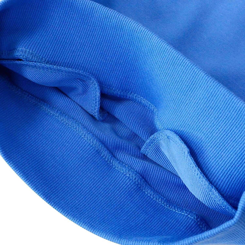 KISBINI Unisex Boys Cotton Long Sleeve Active Hoodies Sport Sweatshirt Pullover