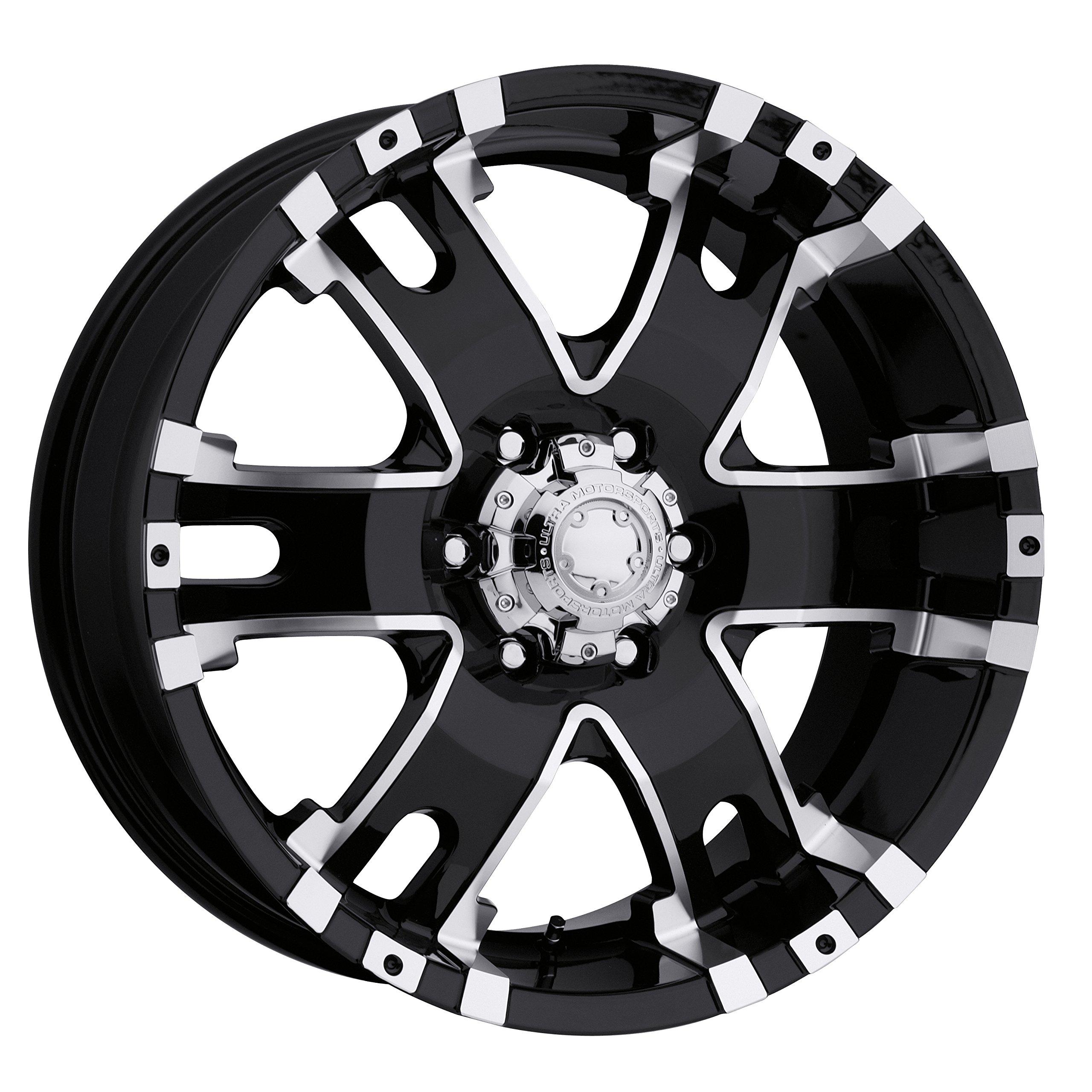 Ultra Wheel 202B Baron Matte Black Wheel (17x9''/6x135mm, +25 mm offset) by Ultra Wheel (Image #1)