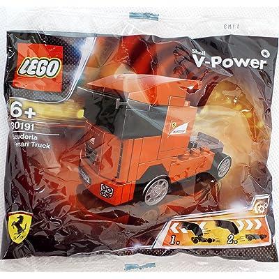 LEGO Racers: Scuderia Ferrari Truck Set 30191 (Bagged): Toys & Games