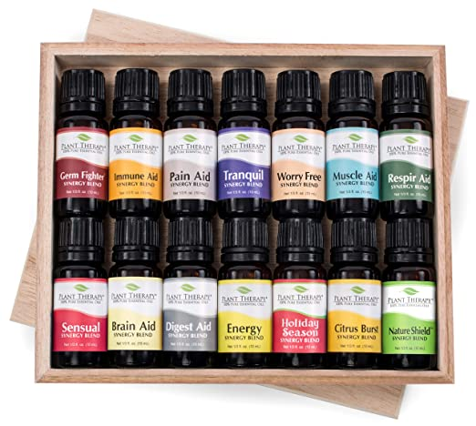 Plant Therapy Essential Oil Synergy Set