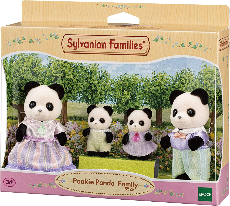 Dollhouse Playsets Sylvanian Families 5529 Pookie Panda Family