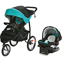 Graco FastAction Fold Jogger Click Connect Travel System, Tropical
