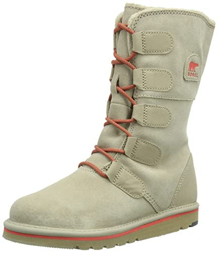 release info on cheap sale sale retailer Sorel The Campus Lace Youth, Girls Biker Boots, Beige (160 Fossil ...