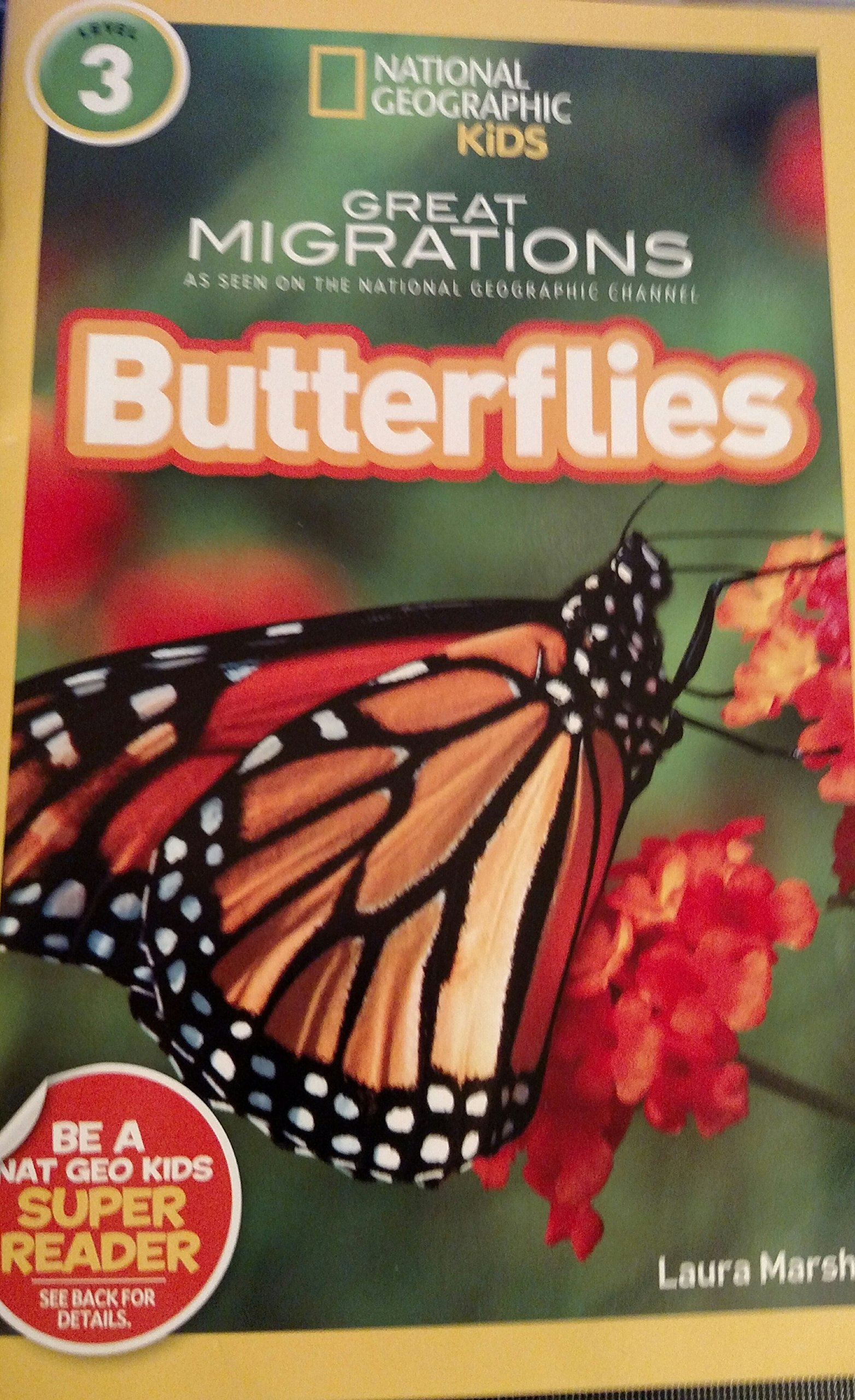 national geographic kids great migrations butterflies reader