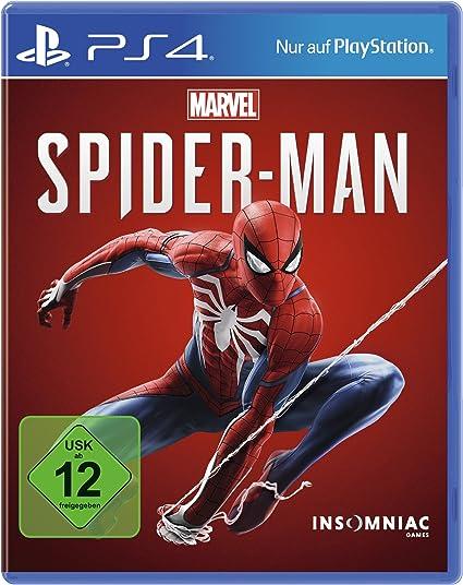 Marvels Spider-Man - Standard Edition - PlayStation 4 [Importación alemana]: Amazon.es: Videojuegos