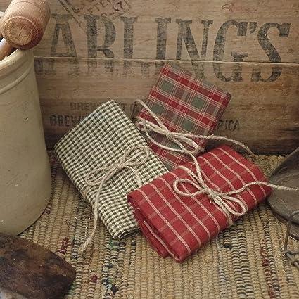 Spice Plaid Homespun~Primitives~Crafts~Accents~