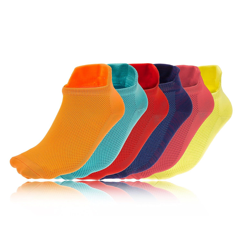 Higher State Women's Freedom Lite 6 Pack Running Sock