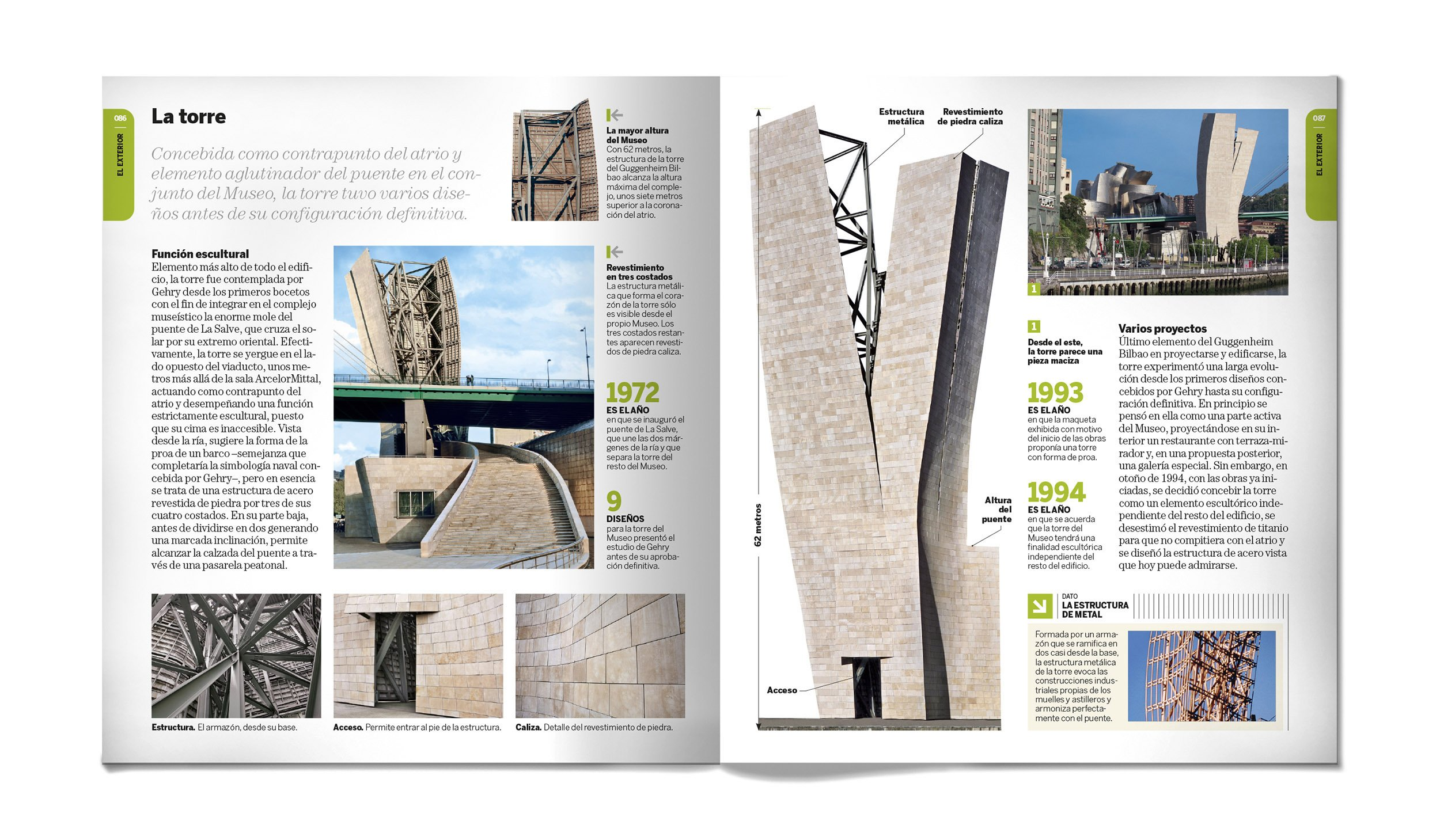 Guia Visual del Museo Guggenheim de Bilbao: 9788496783683 ...