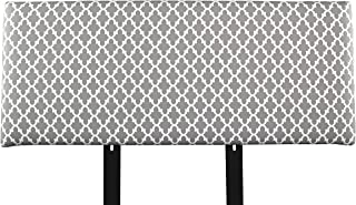 product image for MJL Furniture Designs Alice Padded Bedroom Headboard Contemporary Styled Bedroom Décor, Fulton Series Headboard, Storm Finish, Full Sized, USA Made