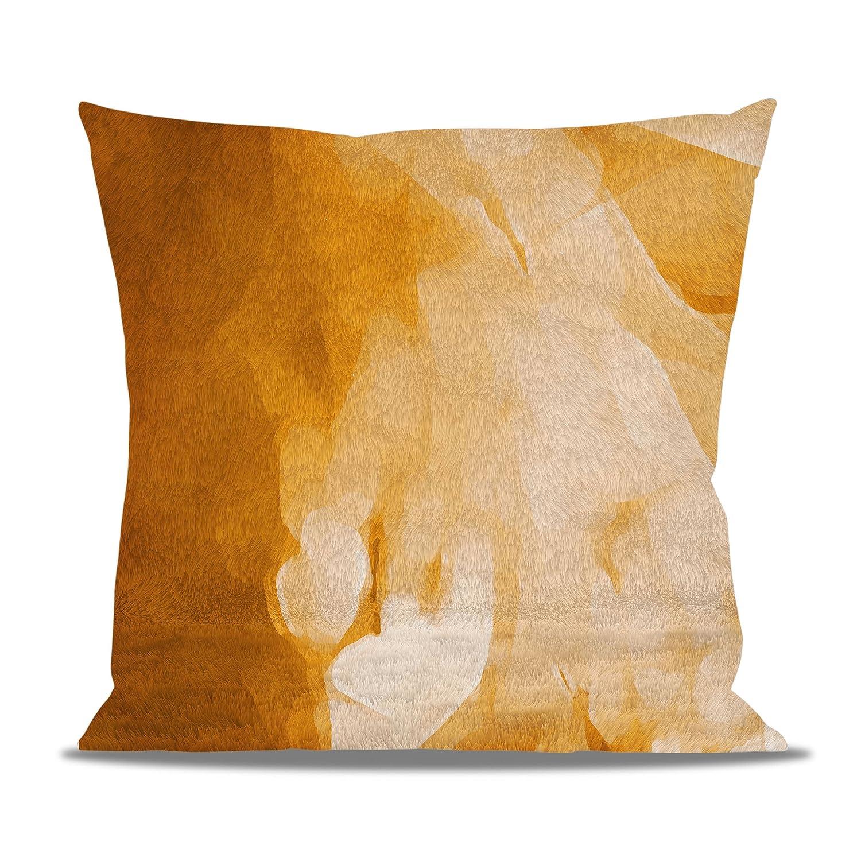 Amazon.com: Colores abstracto Acuarela forro polar – Cojín ...