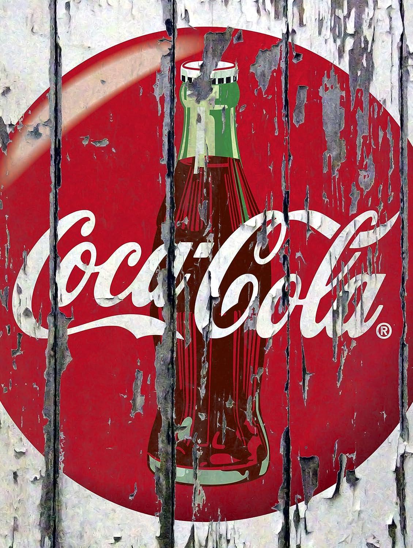 Coca Cola Classic American Vintage Retro Style Coke Tin Sign 30x20cm Metal