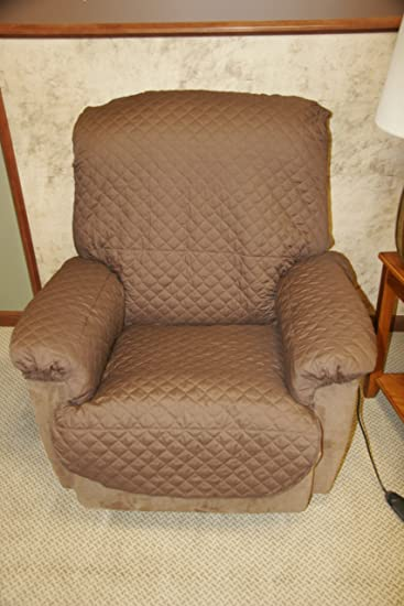 LIQUAGUARD™ Incontinence Recliner Cover (Standard Harvest Brown fits overall chair width 24u0026quot; & Amazon.com: LIQUAGUARD™ Incontinence Recliner Cover (Standard ... islam-shia.org