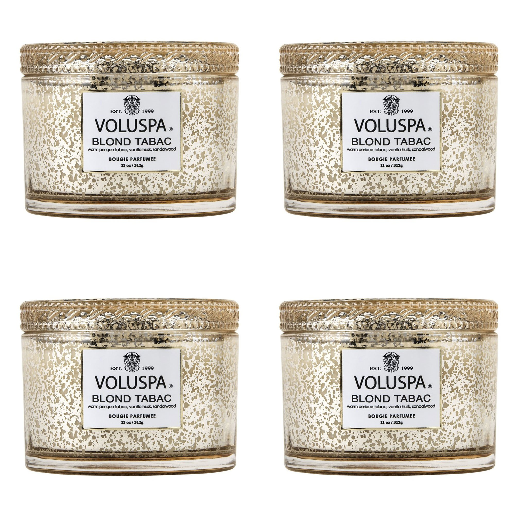 Voluspa Blond Tabac Corta Maison Candle (4 pack)